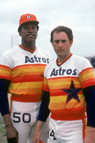 Astros Uniform in the 70s