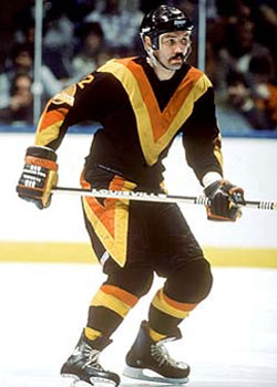 Vancouver Canucks Uniform in the 70s