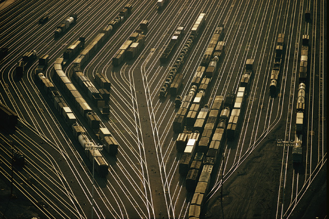 Argentine Yards, an electronic switching yard in Kansas City