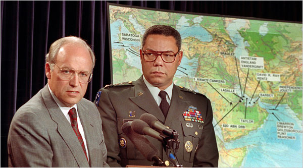 Dick Cheney, Colin Powell, 1991