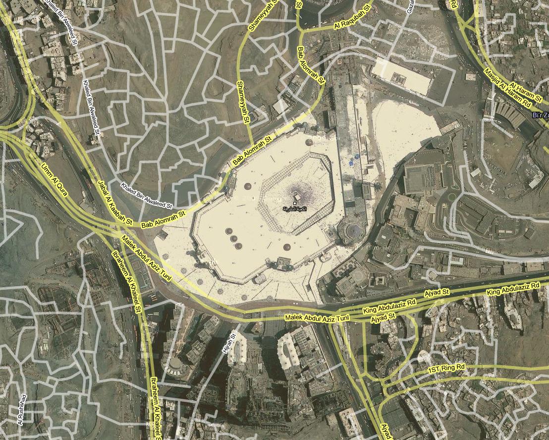 Mecca Map Google